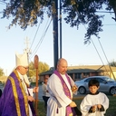 Blessing of the Outdoor Stations of the Cross photo album thumbnail 1