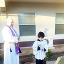 Blessing of the Outdoor Stations of the Cross photo album thumbnail 9